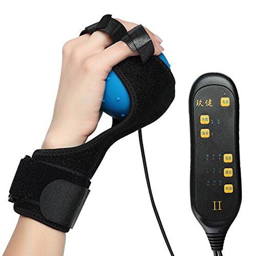 Schlaganfall Hemiplegie Finger passive Rehabilitation Trainingsgeräte Elektrische Wärmemassage Ball Gerät Hand Flexion Ball -