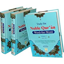 Noble Quran Word-for-Word (Full Colour 3 Vol. Set)