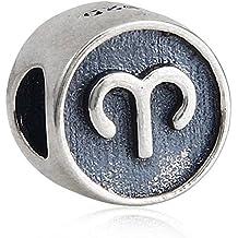 soulbead Símbolo del signo Encanto auténtica plata de ley 925cuentas para DIY Europea Pulsera