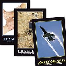 Set de posters Oficina de Barney Stinson I How I Met Your Mother (61cm x 91,5cm) + 2 marcos negros para póster con suspención