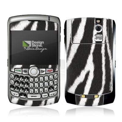 Design Skins für Blackberry 8310 Curve - Zebra Fur Design Folie [Elektronik] Zebra 8310