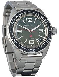 Vostok Komandirskie 200 WR - Reloj de pulsera mecánico automático para hombre #…
