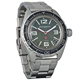 Marke Neu. Wostok komandirskie 200WR Herren Armbanduhr Mechanische automatische Armbanduhr Automatik # 020715
