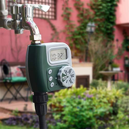 Lorenlli Pantalla LCD automática Controlador de riego de jardín Digi