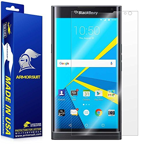 ArmorSuit MilitaryShield Blackberry Priv Screen Protector Anti Bubble & Extreme Clarity HD Shield