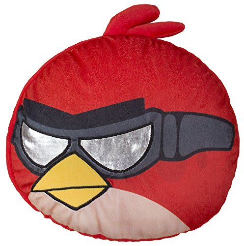 Image of Character world Angry Birds Go Fast Embroidered Shaped Cushion