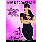 KIM KARDASHIAN Fit in Your Jeans by Friday 2 Quick-Paced Workouts to a Beautiful Backside! [DVD] [Edizione: Regno Unito]