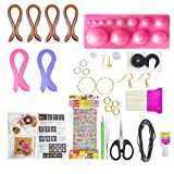 #2: Unobite 37 Piece Quilling Jewellery Kit With 2200 Papers