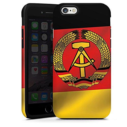 Apple iPhone 5s Housse Étui Protection Coque RDA Drapeau Drapeau Cas Tough terne