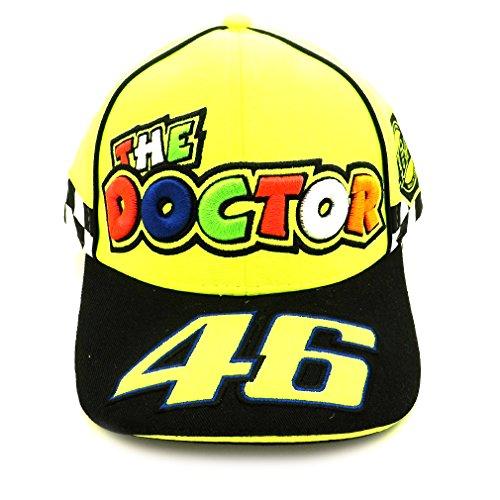 Valentino Rossi VR46 Moto GP The Doctor Amarillo Gorra Oficial 2017