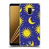 Head Case Designs Soleil Et Lune Pop Trends Étui Coque en Gel molle pour Samsung Galaxy A8 (2018)