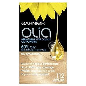 Garnier Olia 112 Super Light Beige Blonde Permanent Hair Dye
