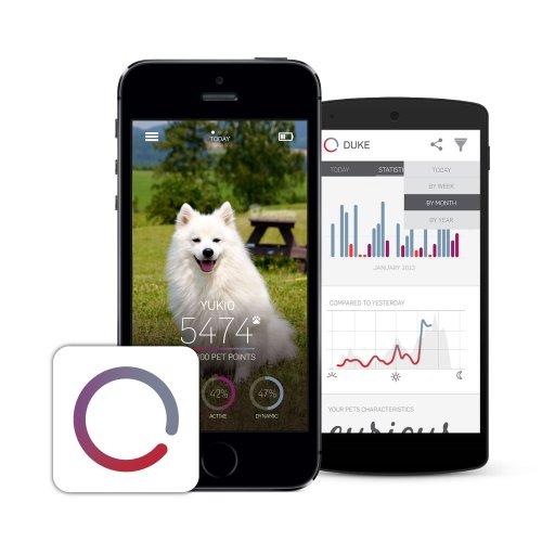Tractive Motion Dispositivo Tracking per Animali, Nero