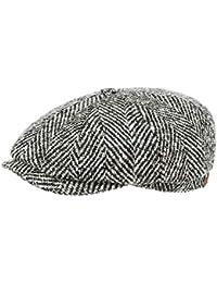 Stetson Hatteras Herringbone Coppola berretti piatti cappello beanie da uomo 2c20a025e9be