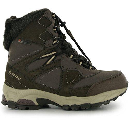 Hi Tec Fusion Damen Wanderstiefel Outdoor Wasserdicht Stiefel Trekking Boots Chocolate/Taupe