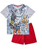 LEGO Star Wars Jungen Shorty-Pyjama - grau - 128