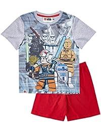 LEGO Star Wars Chicos Pijama mangas cortas - Gris