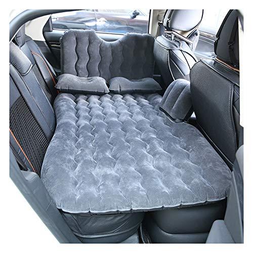 Auto Aufblasbare Matratze mit Luftpumpe, Aufblasbare Matratze Bett für SUV Minivan Rücksitz Erweiterte Matratze für Schlafstütze und Intimate Motion,Black (Motion-bett)