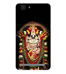 Lord Tirupati Hard Polycarbonate Designer Back Case Cover for Vivo X5Max :: Vivo X5 Max