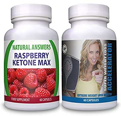 Raspberry Ketone Max Utra Strong Super Weight Loss Accelerator Diet Pills 1 Month Supply Fat Burners For Men Women Work Quicker Than T5 T6