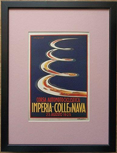 aufgezogen und gerahmt Art–Deco Print Art Deco Werbung Druck, 30,5x 40,6cm Rahmen, Art...