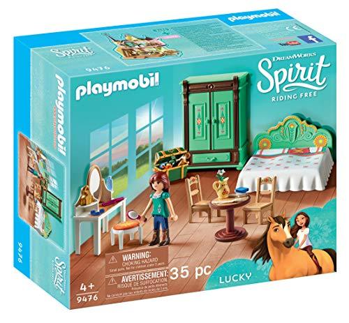 Playmobil 9476 Spielzeug-Luckys Schlafzimmer