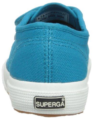 Superga 2750 Jvel Classic, Sneakers Basses mixte enfant Türkis (Blue Caribe C52)