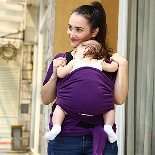 Egmao Baby 2017 Baby Carrier Sling for Newborns Soft Infant Wrap Breathable Wrap Hip seat Breastfeed Birth Comfortable Nursing Cover (Yellow)  Egmao Baby