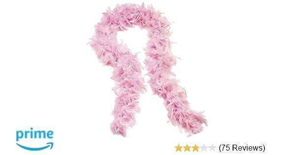 Folat 62072 Feather Boa Neon Pink 180cm