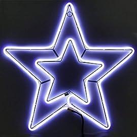 Stella Di Natale A Batteria.Catalogo Stelle Luminose Negozio Online Decorazioni Di Natalizie