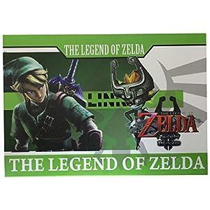 LiHao The Legend of Zelda Metal Shield & Master Sword Weapons Necklace 12 Piezas Llavero / collar Collection Box (5 Shields,7 Swords) de LiHao
