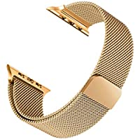 Microsonic 20840 Apple Watch 2 42mm Milanese Loop Version 3 Kordon Gold