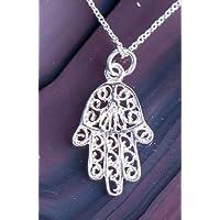 Halskette Healing Hand Fatima 925 Sterling Silber preisvergleich bei billige-tabletten.eu