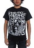 Brutal Truth–Camiseta para hombre la Religión en negro Negro negro Small
