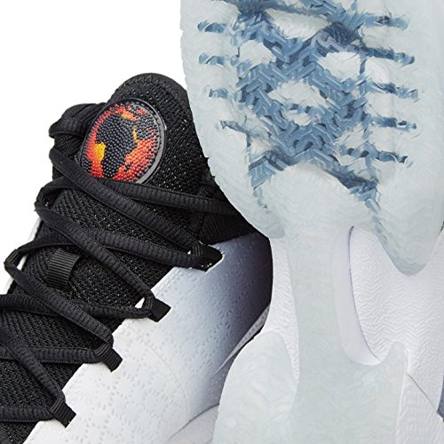 Nike Air Jordan Xxx, Chaussures de Sport-Basketball Homme Multicolore - Blanco / Negro / Gris (White / Black-Wolf Grey)