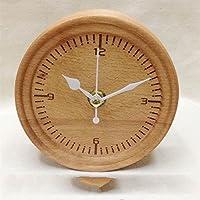 Preisvergleich für XBR kunsthandwerk aus holz _ holz buchenholz uhr pendeluhr uhr