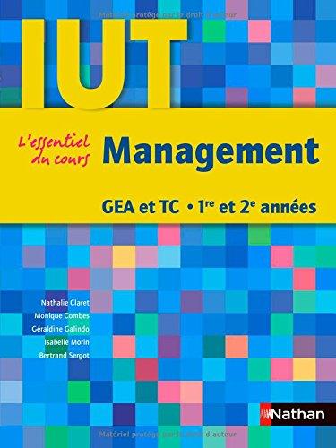 Management : GEA et TC 1re et 2e années