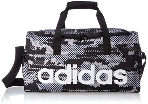 adidas Linear Performance Team-Tasche Sporttasche, Visgre/Black/White, S