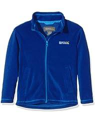 Regatta-Chaqueta de forro polar, chaqueta, Niño, color Azul - Surf Spray/Methyl, tamaño 9-10