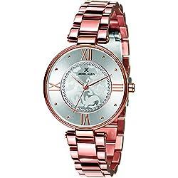 Daniel Klein Analog Silver Dial Women's Watch-DK11292-3