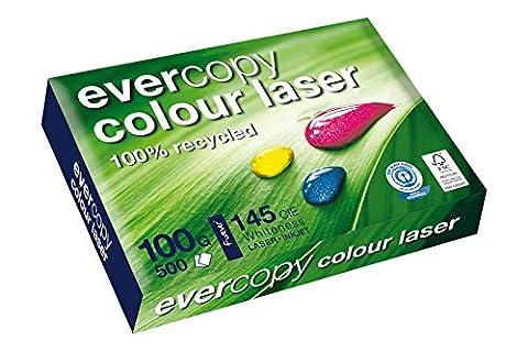 Clairefontaine 50024C Ramette de 500 feuilles de papier pour imprimante laser couleur Blanc 100g/m² Format A3