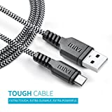 #1: Mivi Tough Micro Usb Cable With Charging Speeds Up To 2.4Amps For Samsung, Lenovo, Lumia, Oneplus, Xiaomi,(Black)