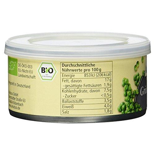 Alnatura Bio Pastete Grüner Pfeffer, vegan, 6er Pack (6 x 125 g) - 5