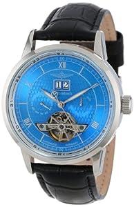 Reloj de caballero Breytenbach BB8645BW-86456 automático, correa de piel color negro de Breytenbach