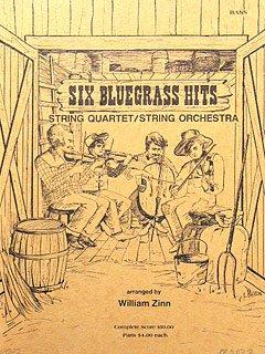 6 BLUEGRASS HITS - arrangiert für Kontrabass [Noten / Sheetmusic]