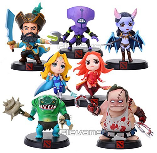 WOW-DOTA-2-Kunkka-Lina-Pudge-Queen-Tidehunter-CM-FV-PVC-Action-Figures-Collectible-Toys-7pcslot-LLFG036-by-Action-Figure