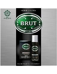 Brut Coffret Cadeau Musk Eau de Toilette pour Homme 100 ml + Déodorant 200 ml