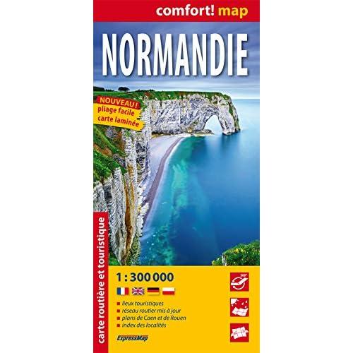 NORMANDIE  1/300.000 (laminée)