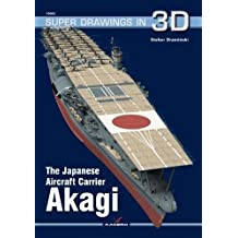 Japanese Aircraft Carrier Akagi (Super Drawings in 3D)