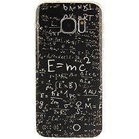 Funda Samsung Galaxy S7, Carcasas de Samsung Galaxy S7, Ultra Slim Premium Design Funda protectora de silicona TPU suave, resistente a los arañazos, antichoque Funda protectora para Samsung Galaxy S7, Fórmula matemática